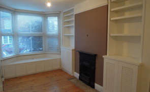 Alcove units & bench seat