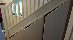 Bespoke understairs doors